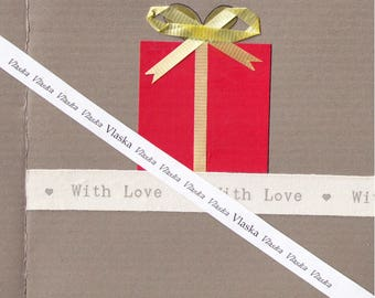 valentine's card, downloadable cards, artist trading cards, anniversary card, engagement cards, handmade cards,