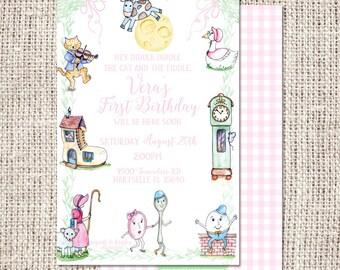 Nursery Rhyme Invitation