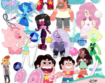Steven Universe Clipart instant download PNG file - 300 dpi