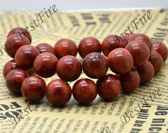 Big 16mm Red Sponge coral Round  beads,Coral Beads Coral nugget  Beads Full One Strand 16inch