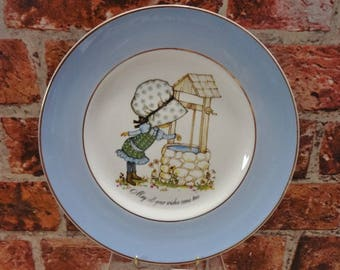 Petticoats and Pantaloons Plate by Roth '' May All Your Wishes Come True''