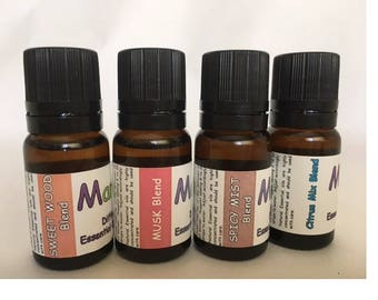 SCENTS FOR HIM - Aroma Diffuser essential oil blends - 100% pure oil