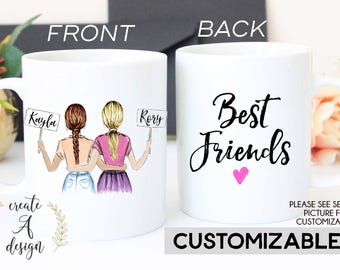 Best Friend Gift, Valentine's Day Gift, Personalized Friend Gift, Mug, Birthday Gift, Gifts for her, Friendship gift, Soul Sisters gift