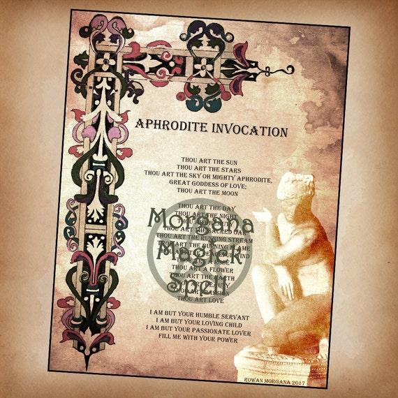 Goddess Aphrodite Invocation