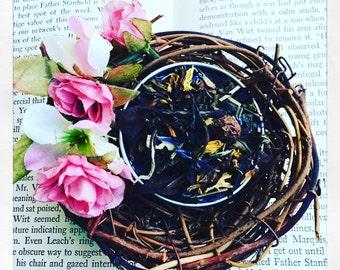 Black Current White Tea Blend Champagne Cassis Loose Leaf Tea Lover Gift For Best Friend Loose Tea Tea Gift Hostess Gift For Mom