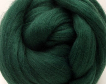 4 oz. Merino Wool Top - Loden