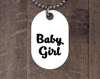 BDSM Baby Girl Dog Tag
