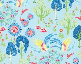 Moda MANDERLEY Quilt Fabric 1/2 Yard By Franny & Jane - Sky 47502 14