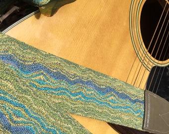 New Guitar or Banjo Strap by Martha Crow