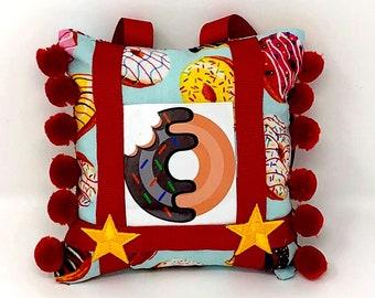 The Donut Mini Pillow