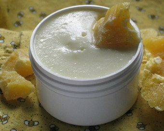 Organic Bee Naked Cream - Only Organic Oils Used- BPA FREE 1 1/2 oz. Jar- Safe for Babies and Children-Great for those with Sensitive Skin