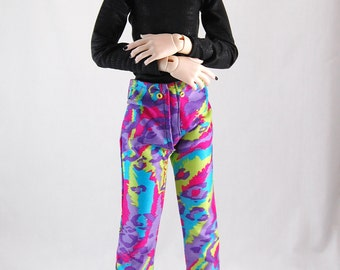 SD13 BOY Multi-colored Leopard Print Pants CLEARANCE Price