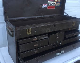 Industrial Metal Cabinet, Kennedy Kit, Black