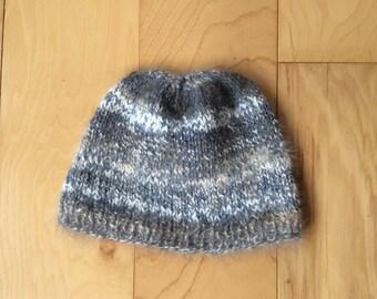 Winter Angora Beanie Cap for kids