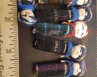 """Med 2"""" Worry Doll for Crafts"""