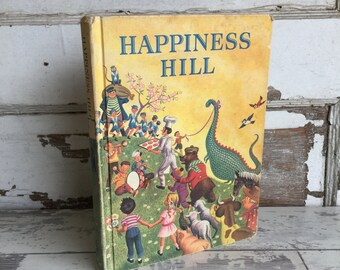 Vintage Happiness Hill Reader 1960s Nice Condition