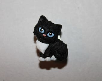 button, fantasy, animal, cat, black