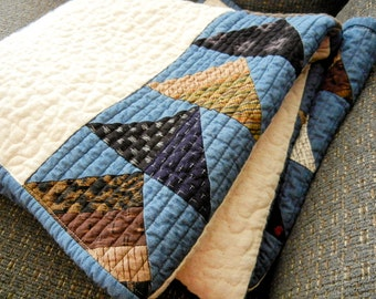 Quilt - Simple Japanese Flying geese - 52 x 37 -