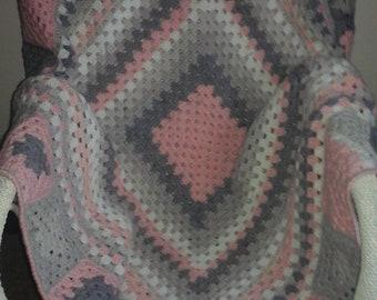 Crochet Blanket/ Rug/ Throw.