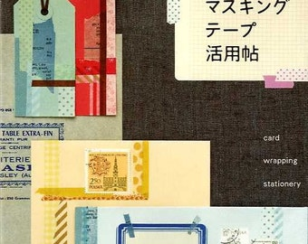 Ideas of Using Masking Tapes - Japanese Craft Book
