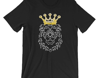 King Lion T-shirt Animal Lover Tee