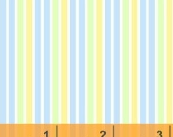 Stripes - Blue/Green/Yellow by Windham Fabrics (29403-14) Fabric Fat Quarters