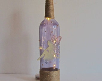 Glowing Fairy Light, Magic Fairy Light, Fairy Decor, Wine Bottle Decor, Fairy Gift, Glowing Fairy, Fairy and Light, Fairy Decoration