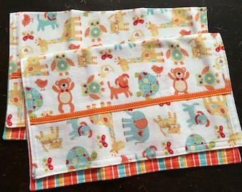 burp cloth, baby boy, baby girl, baby boy gift, baby girl gift, burp cloth set, baby burp cloths, baby gift, animal burp cloth
