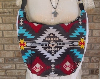 Tribal Hobo Bag