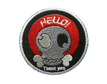 Funny Patches Handmade Gifts Applique Embroidered Iron on Patch