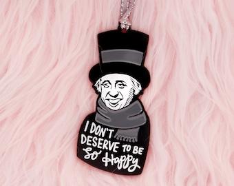 A Christmas Carol Scrooge Christmas ornament