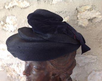 Parisian vintage hats x 3