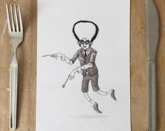 Master Chef - A5 Print - Illustration