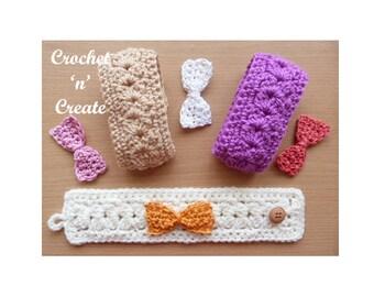 Bracelet Crochet Pattern (DOWNLOAD) CNC40