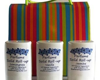 Essenital Oil Solid Perfume Gift Box