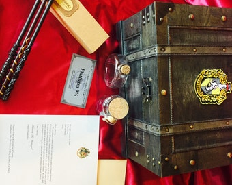 Great Gift! Wizard chest with themed contents