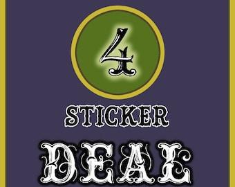 4 Sticker Combo Deal !!