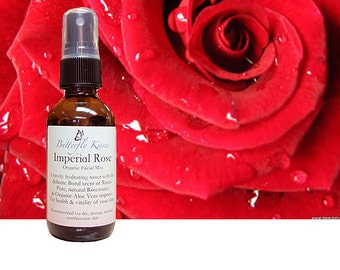 Imperial Rose Organic Facial Mist, Toner, Face Toner, Face Mist, Natural Face Mist, Organic Face Mist, Butterfly Kisses, Lotions and Potions