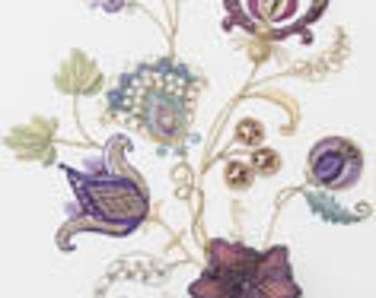 Rajmahal Fantasia embroidery kit