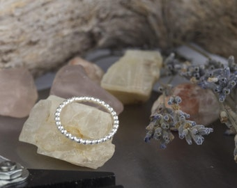 Sterling silver stacking rings | Mother's Day gift | Various sizes