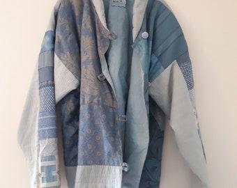 Vintage Handmade Patchwork Jacket size 6/10