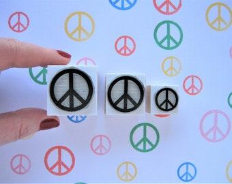 Peace Stamp. Peace Rubber Stamp. Peace Symbol Stamp. Peace Symbol Rubber Stamp. Peace Banner. Peace Sign Stamp. Peace Sign Rubber Stamp