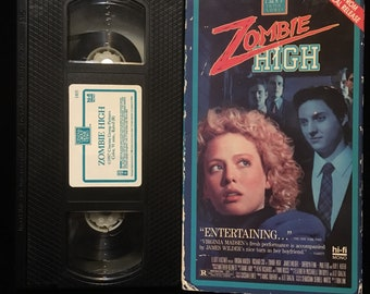 Zombie High VHS