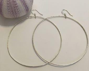 Sterling Silver <> Large Hoops <> Infinity Hoops