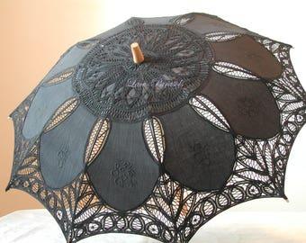 Black Parasol