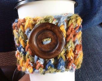 Kaffee gemütlich, häkeln Kaffee gemütlich, Tee gemütlich, Kaffee Craver, Kaffee-Liebhaber Geschenk, Starbucks wiederverwendbare Kaffee Ärmel, häkeln, gemütlich
