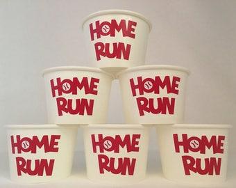 Baseball party snack cups, Baseball Birthday Party snack Cups, Baseball Baby Shower, Sports Party Cups, Sports Baby Shower  Cups