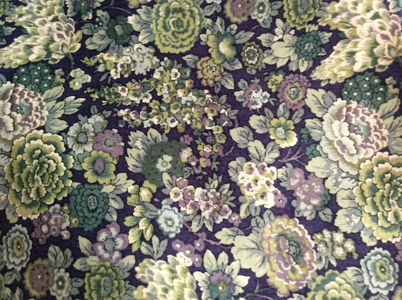 Tana lawn fabric from Liberty of London, Elysian