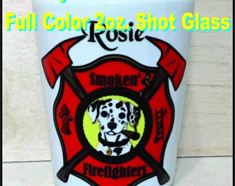 Dye Sublimation - Full Color 2 oz. Shot Glasses