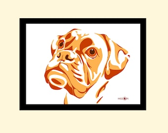 Bespoke Gift, Custom Pet Portrait, Digital Print, Animal Print, Pet Art, Art, Cat Art, Dog Print, Artwork, Digital Art